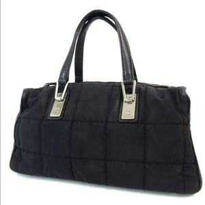 Chanel Nylon satchel handbag